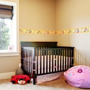 Interior decorado con Cenefa Looney Tunes 6122