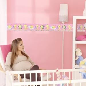 Interior decorado con Cenefa Piolin 905-1