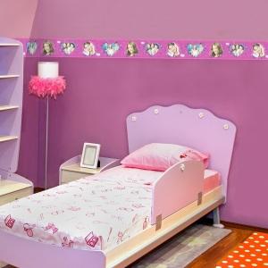 Interior decorado con Cenefa Violeta VL3508-2