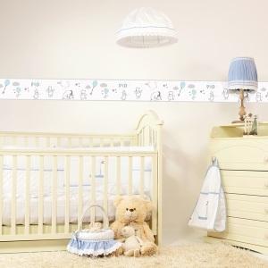 Interior decorado con Cenefa Winnie the Pooh WP3511 -2